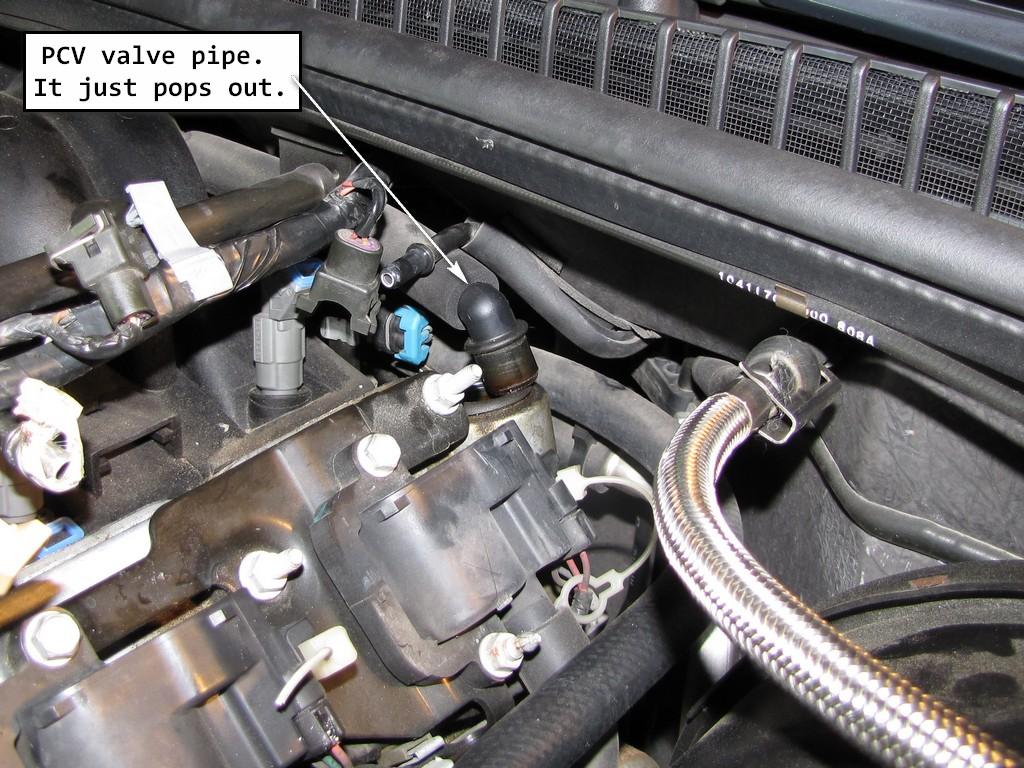 chevrolet colorado egr valve location