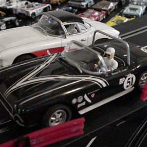 1:24 Scale '62 Slot Cars