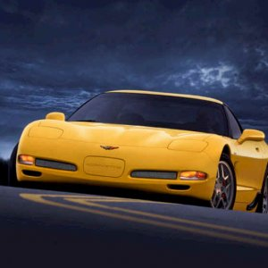 Chevy - Yellow Z06