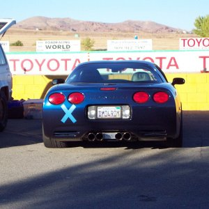Parked at Willow Springs