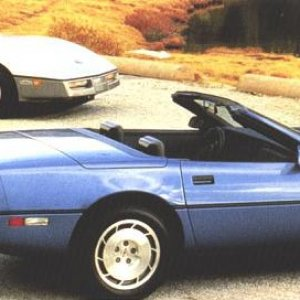 1986 Coupe and Convertible