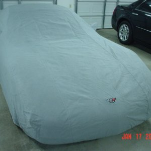 corvette covered up