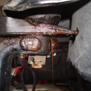control arm removal
