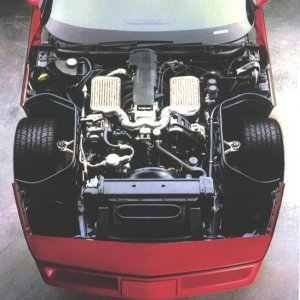 1987 Callaway Twin Turbo engine