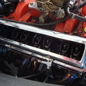 cut up old valve cover
