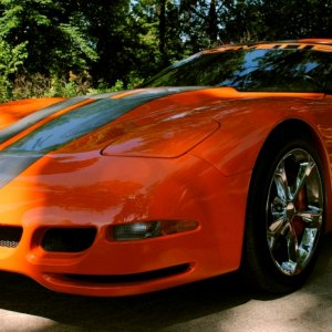 2002 Corvette Modified