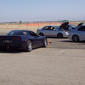 Corvette with Ricers