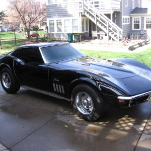 '69 stingray coupe