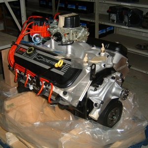 502 GM Crate engine