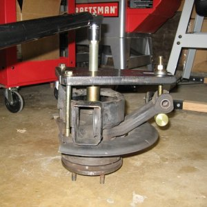 Trailing Arm Rebuild