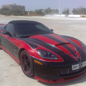 3 colored convertable Z06