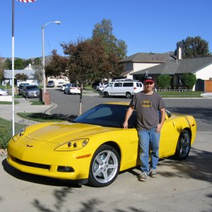 My new Velocity Yellow C6