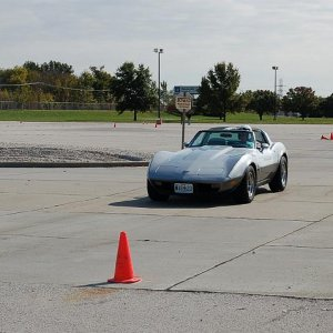 THE 78 AT THE AUTOCROSS