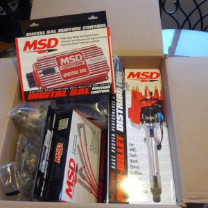 MSD Complete Ignition Kit Chevy BBC