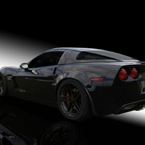 Black Z06 Desktop 1024x768