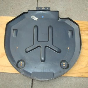 C3 spare tire carrier