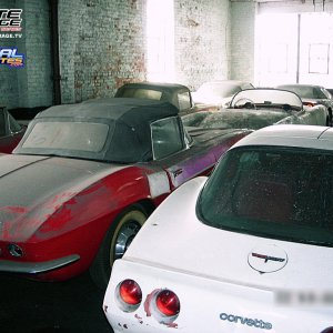 Peter Max Corvettes - NEW location