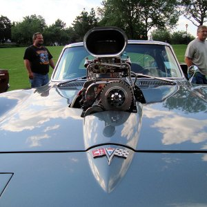 1964 Corvette from Itasca car show