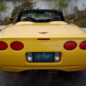 2004 convertible rear end
