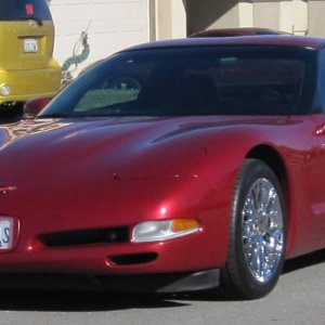 99 coupe with ZR1 style wheels
