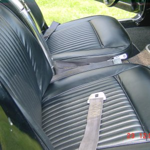 Knoch Leather interior