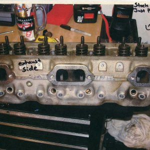 Stock LT1 Heads (Just Pulled)