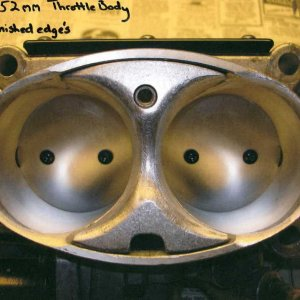52MM CNC'd Throttle Body