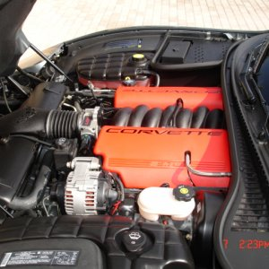 Z06 Fuel Rail Covers
