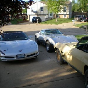 The Fleet! ('98,'78 and the latest project a '66)