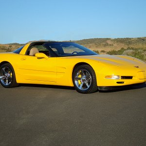 My 2000 Millennium Yellow C5 Corvette