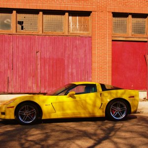 "The Z06 with ""pastel"" coloring"