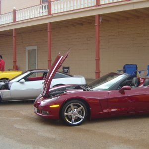Corvettes and Ghost Riders, Tombstone, Az Run 2008