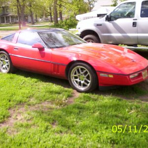 This is my 86 corvette