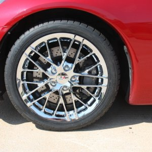 ZR1 Wheels on C6 Coupe