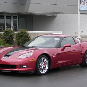 "Just took delivery of the ""427"" Z06"
