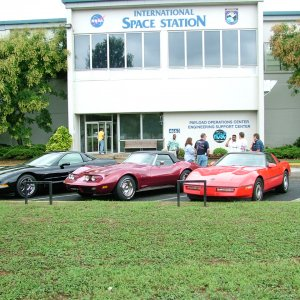 NASA MSFC drive your Vette to work day