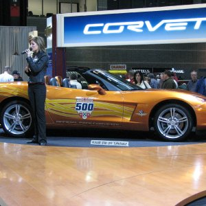 2007 Chicago Auto Show - Pace Car