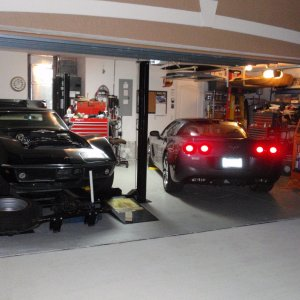 Two in the Garage