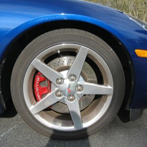 Powder Coated Brake Calipers