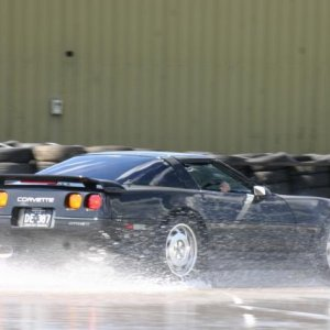Skid pan day at Easten Creek Sydney