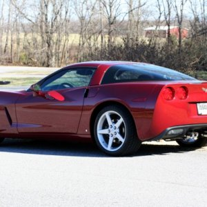 2006 Monterey Red coupe