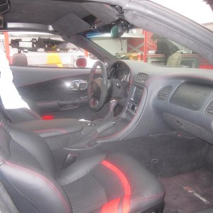 alcantara + leather individual interior and much procharged power