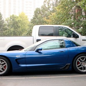 Lowest and best riding C5 Z06 on the planet.