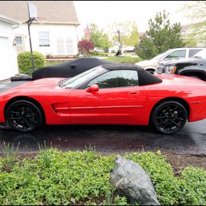 "2010 ""spyder"" wheels on 2001 convertible"