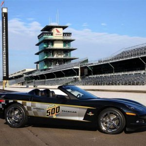 Two 2008 Indy pace cars