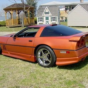 Copper Mettallic Vette